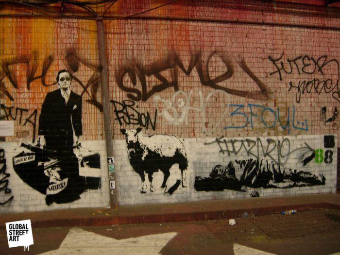Blek Le Rat Leake Street, London 08