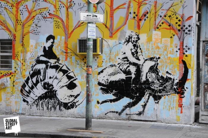 Buenos Aries Stencil