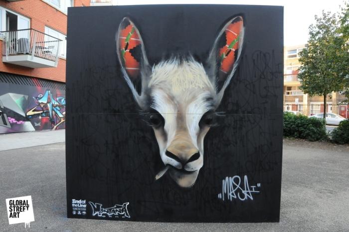 Louis Masai Highbury, London 2011