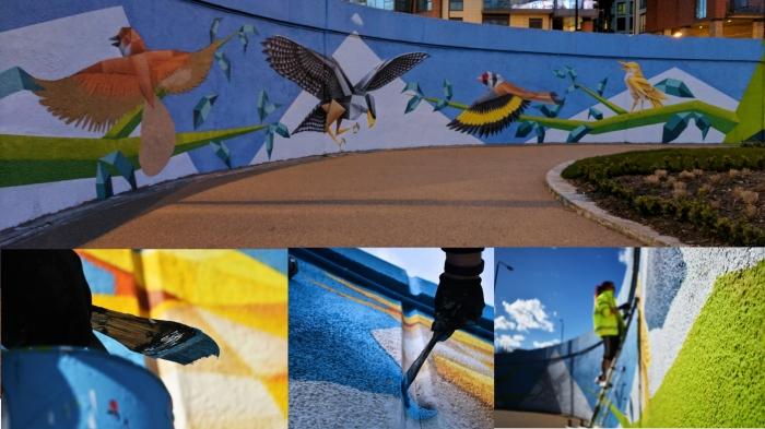 ANNATOMIX wandsworth tfl street art