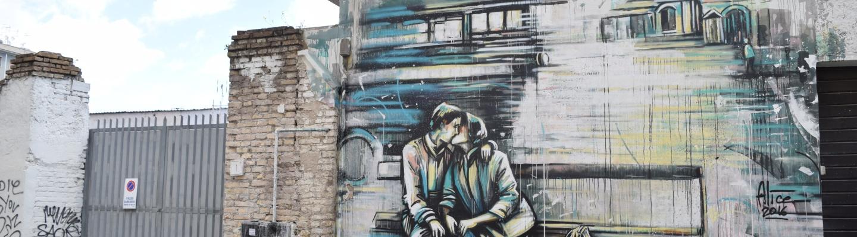 Street art rome alice pasquini