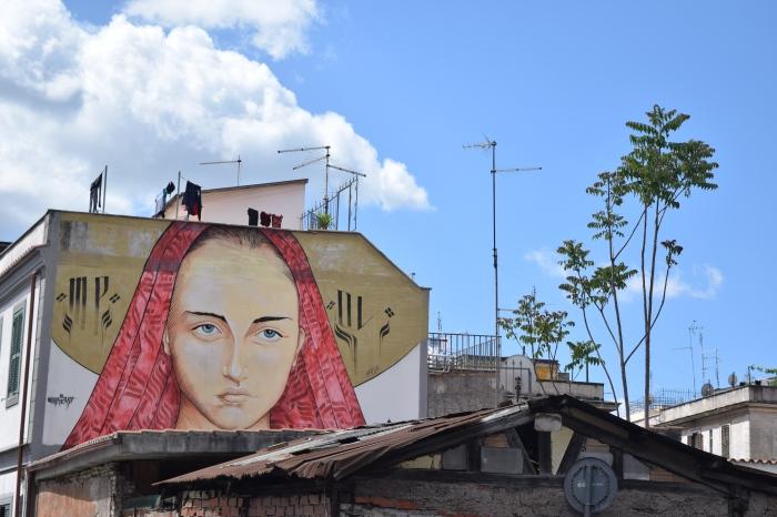 street art rome mr klevra