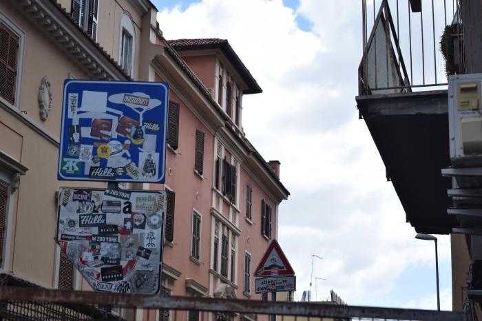 street art rome stickers 2