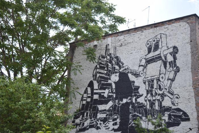 street art rome m-city