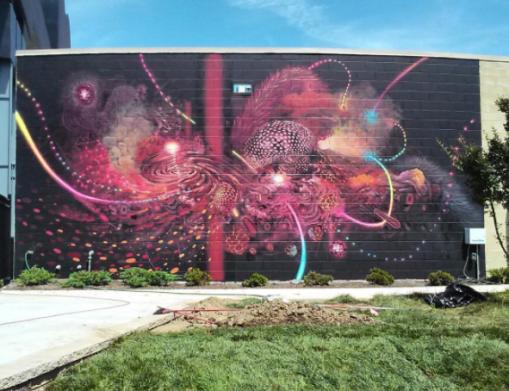 Nashville Walls Project Mars-1 + Curiot