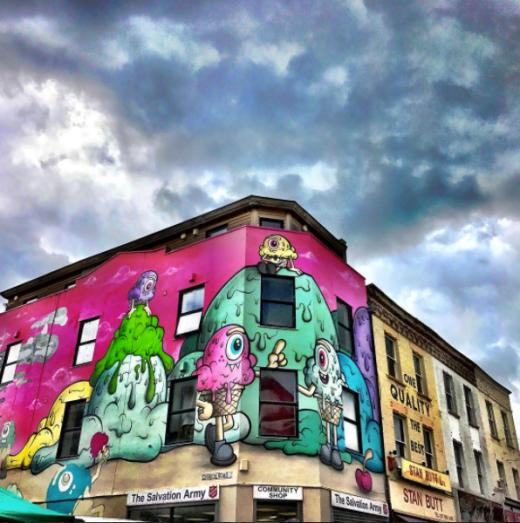 street art upfest 2017 buffmonster