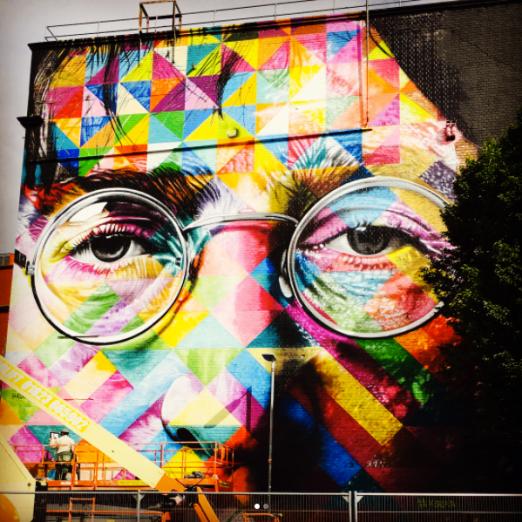 street art upfest 2017 kobra