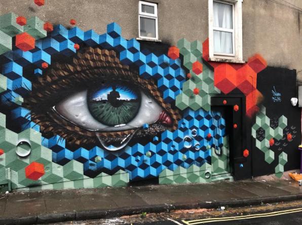 street art upfest 2017 my dog sighs