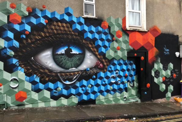 street art upfest 2017 my dog sighs