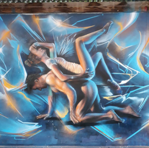 street art upfest 2017 Olivierr