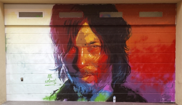 street art axe colours daryl