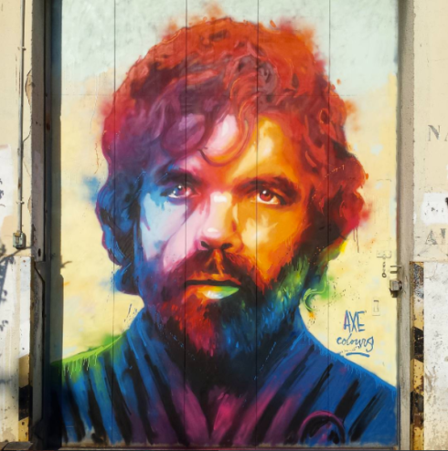 street art axe colours tyrion