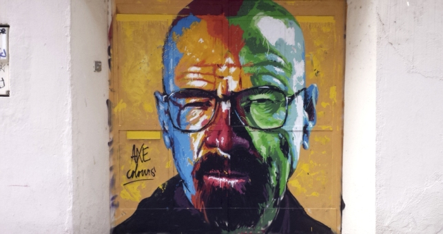 street art axe colours walter white