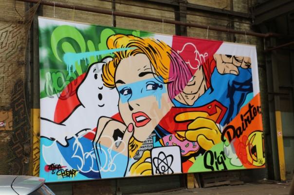 street art bust amsterdam