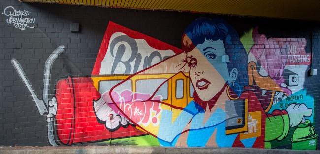 street art bust berlin