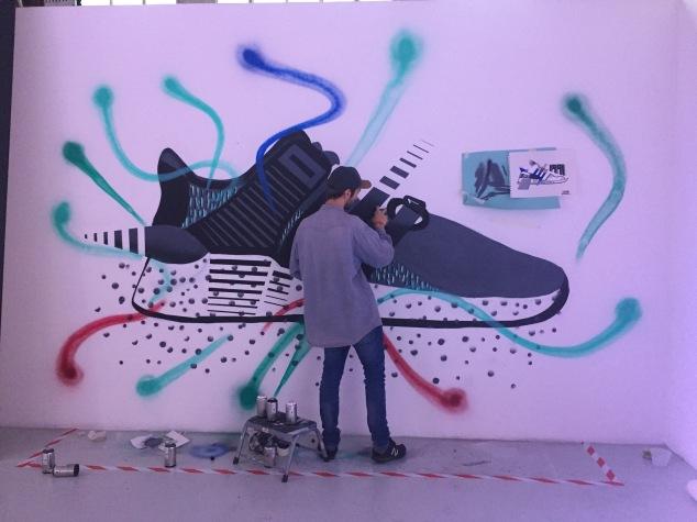 street art adidas delgan nictattoo