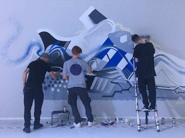 adidas street art Joe Clarke, AutOne, Itaewon