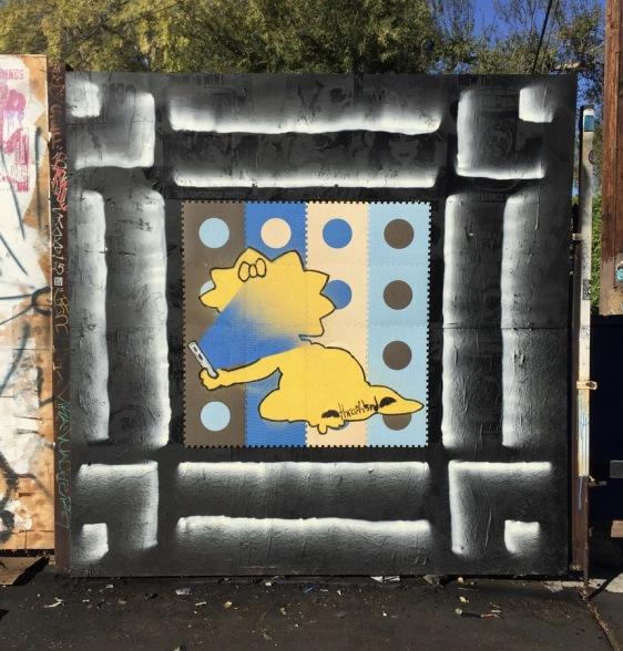 streetart thrashbird maggie