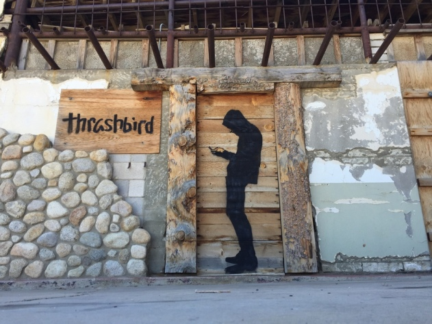 street art thrashbird clone 1