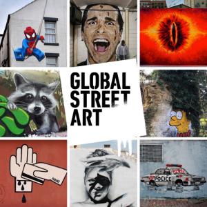 global street art nov 2017