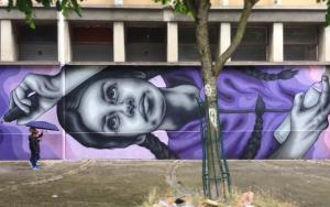 Zabou street art 13 CREATE in Paris-France