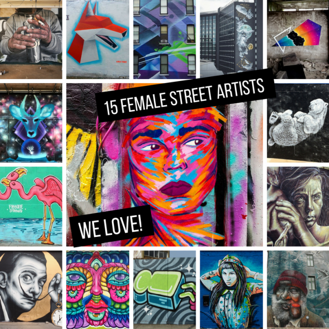 15 Female Street Artists we love international womens day