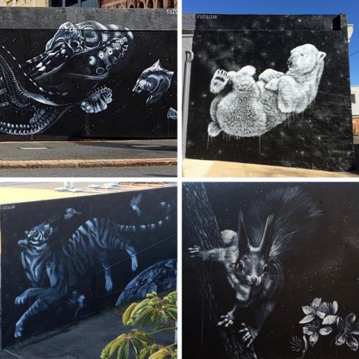 female street artists international womens day Fuzeillear