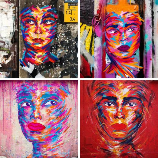 female street artists international womens day manyoly