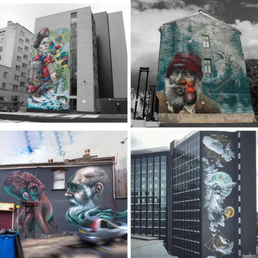 female street artists international womens day nomad clan