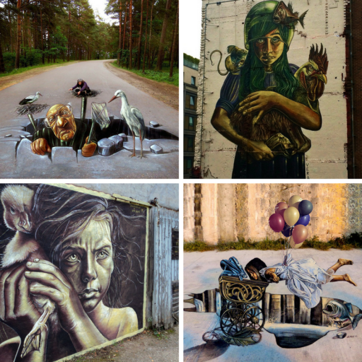 female street artists international womens day vera bugatti