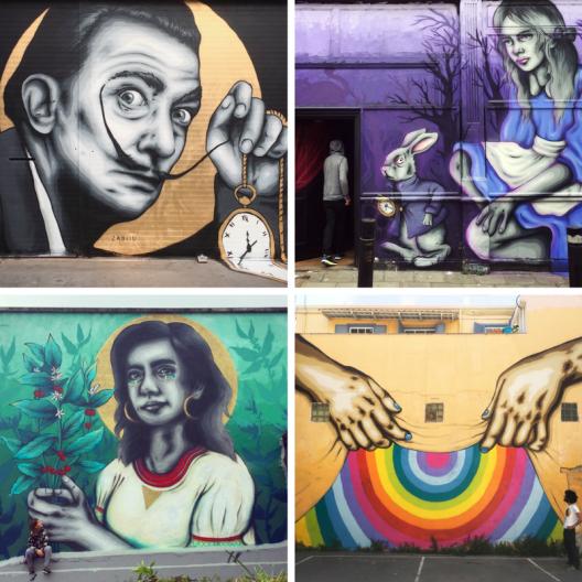 female street artists international womens day zabou